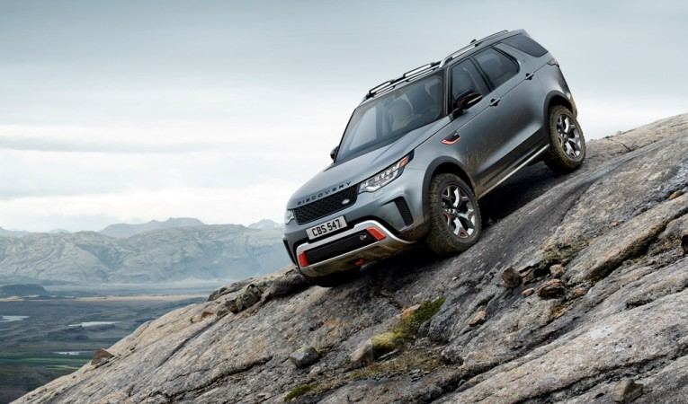 The Discovery SVX is a 525bhp off-road weapon