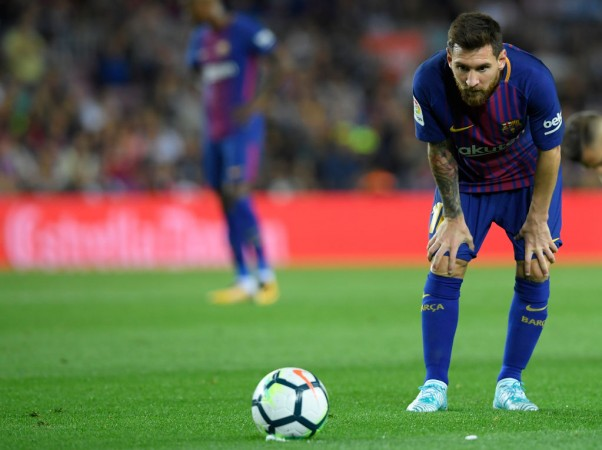Barcelona match played behind closed doors