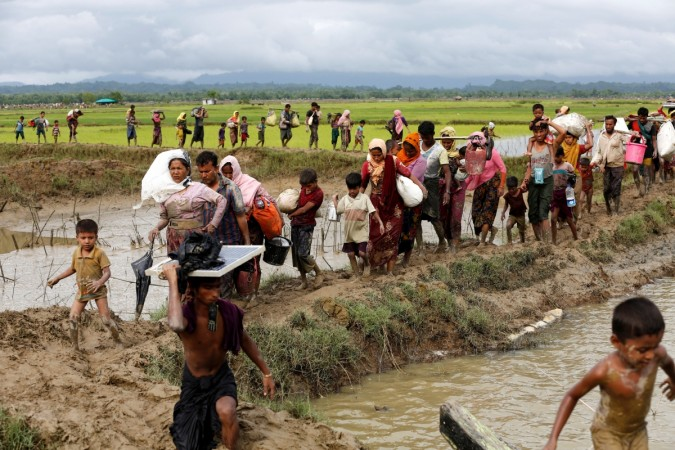 UNICEF says 240000 Rohingya kids in unsafe situation