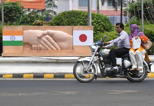 Shinzo Abe Modi Gujarat
