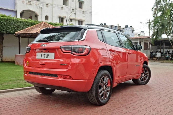 Jeep Compass modified by KitUp