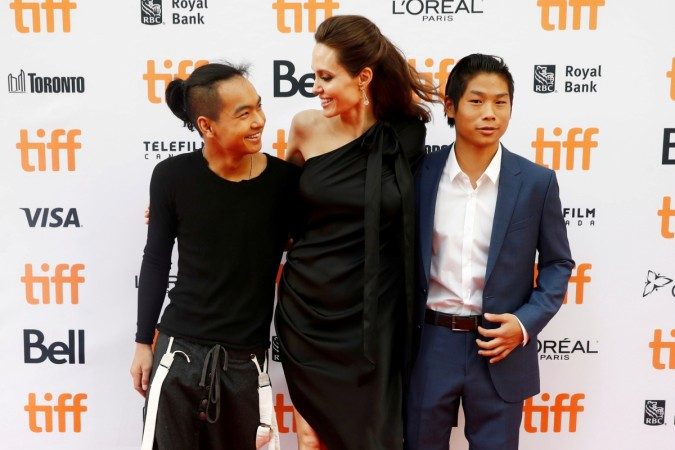 Angelina Jolie gets 'testy' on Brad Pitt question during ...