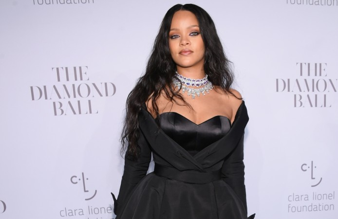 Rihanna Glams Up for Third Annual Diamond Ball!
