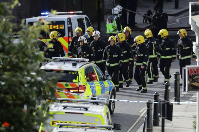 London tube blast