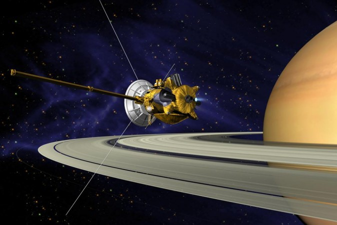 NASA's Cassini Spacecraft Ends Mission With Plunge Into Saturn