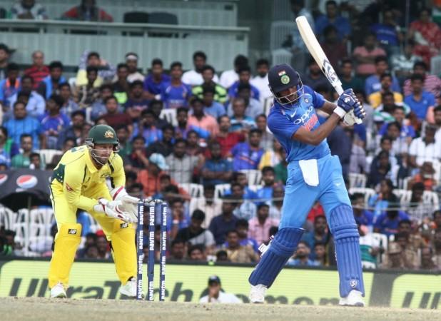 India vs Australia, Hardik Pandya