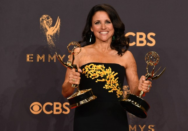Joe Biden has Julia Louis-Dreyfus' back
