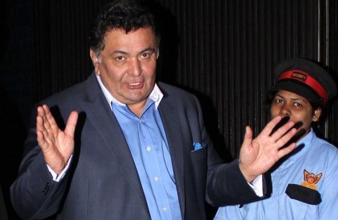 Rishi Kapoor calls cartoon on RK Studio fire 'sick humour'
