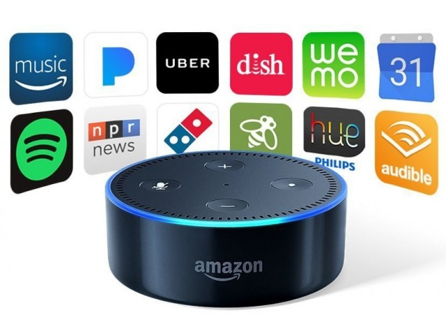 Amazon Echo Dot as seen on its website