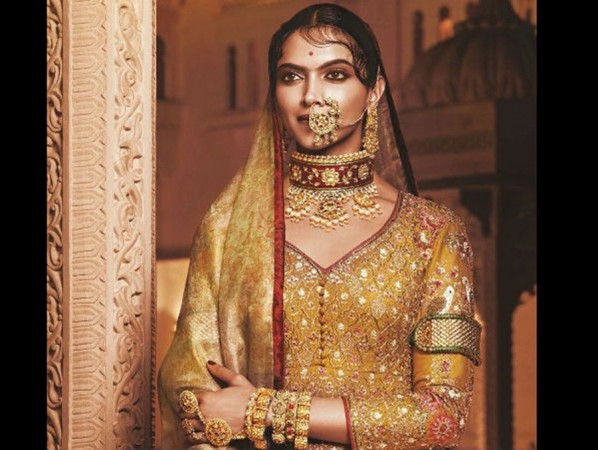 Deepika Padukone's look as Rani Padmini from Padmavati out