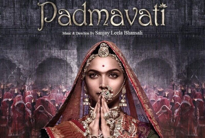 'Padmavati's' colour decoration vandalised in Surat; 'disgusting' tweets Deepika Padukone