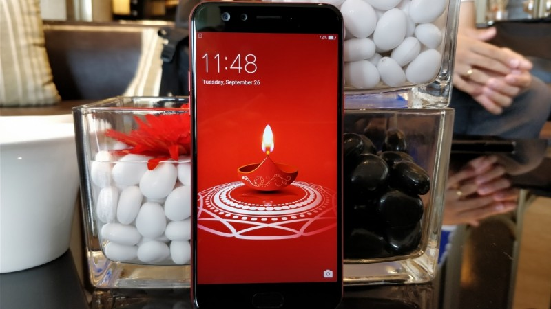 Oppo F3 Diwali Limited Edition 'Red' launched for Rs. 18990