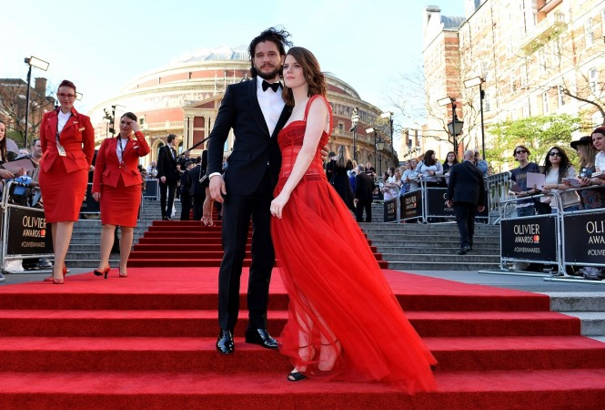 Kit Harington and Rose Leslie 'are engaged'