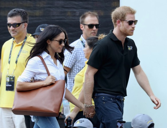 Prince Harry makes first public appearance with Meghan Markle's mum in Toronto