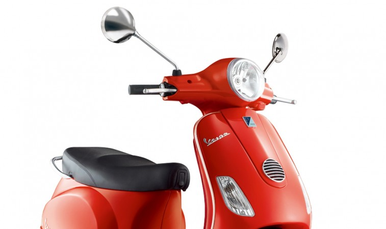 Vespa RED launched in India at Rs 87000