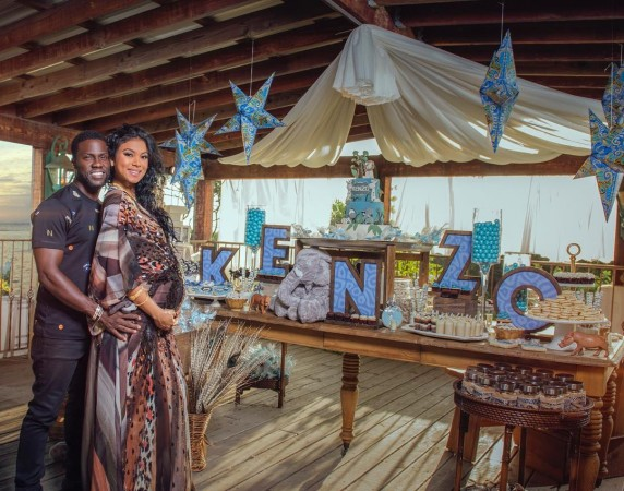 Kevin Hart splurges on baby shower amid cheating scandal