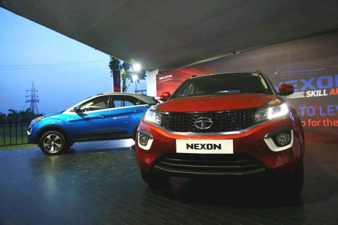 Tata Nexon AMT variant image leaked ahead of launch