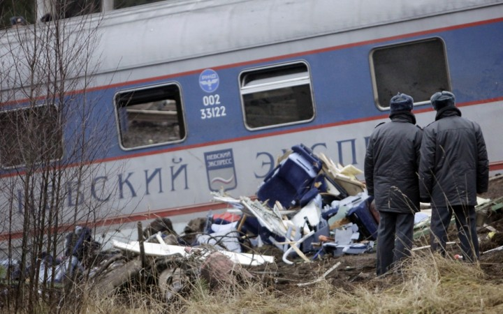 At Least Nineteen Killed When Train Collides with Bus in Russian Federation