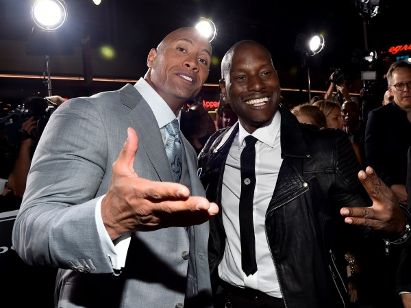 Tyrese Gibson slams The Rock
