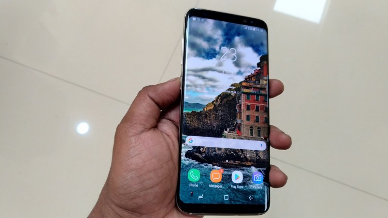 The Samsung Galaxy S9 is now available from T
