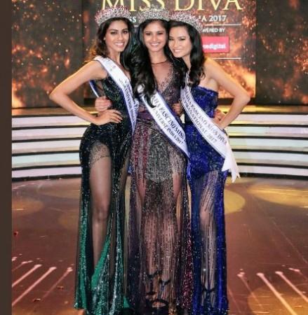 Miss Diva 2017 winner, Miss Diva 2017 winner Shraddha Sashidhar, Miss India Universe