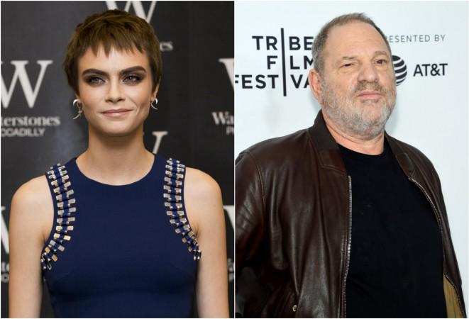 Cara Delevingne, Harvey Weinstein