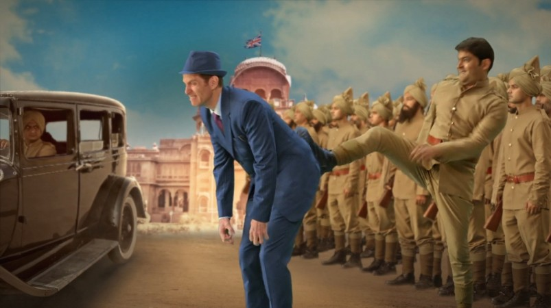 Kapil Sharma Firangi Motion poster