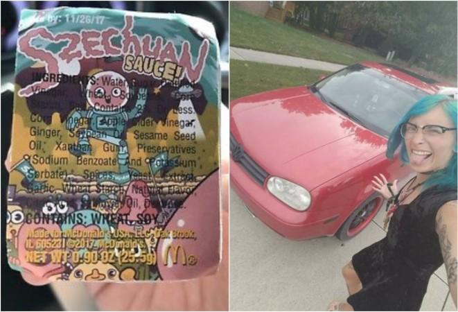 To se může stát pouze v USA. Američanka vyměnila jeden balíček omáčky z McDonald's za auto