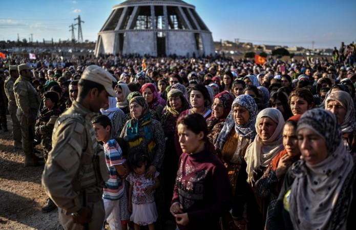 syria, kurdish forces