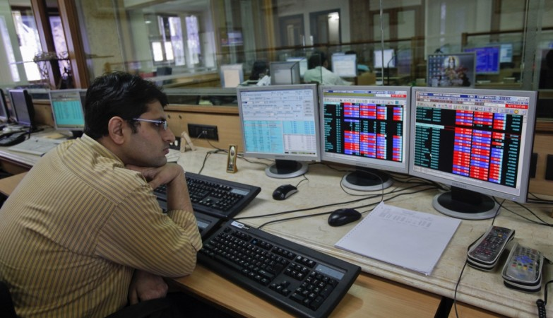 Sensex all-time high, Nifty breaches 10600 despite tepid GDP forecast