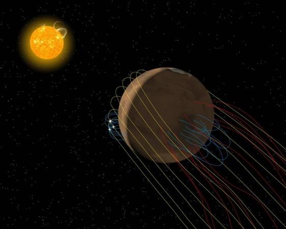 Strange Streaks on Mars Are Sand, Not Water