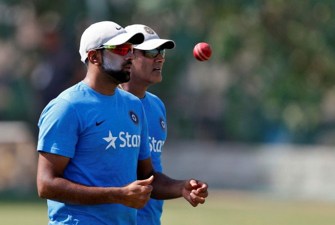 Ashwin doffs his hat to Kumble