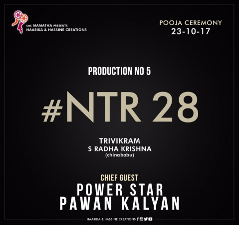 Pawan Kalyan to grace NTR28 launch
