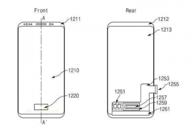 Samsung Galaxy S9's rear panel could get a complete makeover