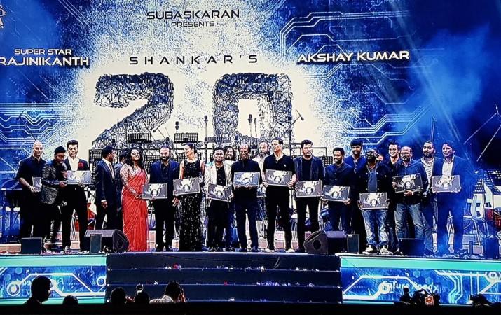 Rajinikanth 2.0 Movie Runtime locked for just 140 minutes