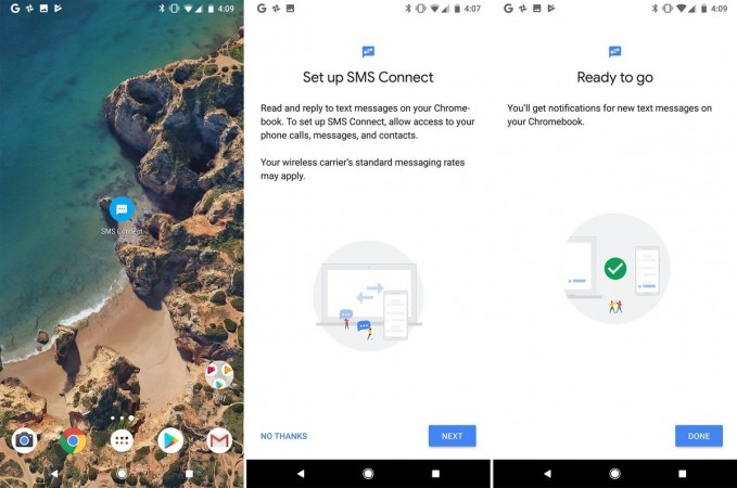 Android 8.1 SMS Connect