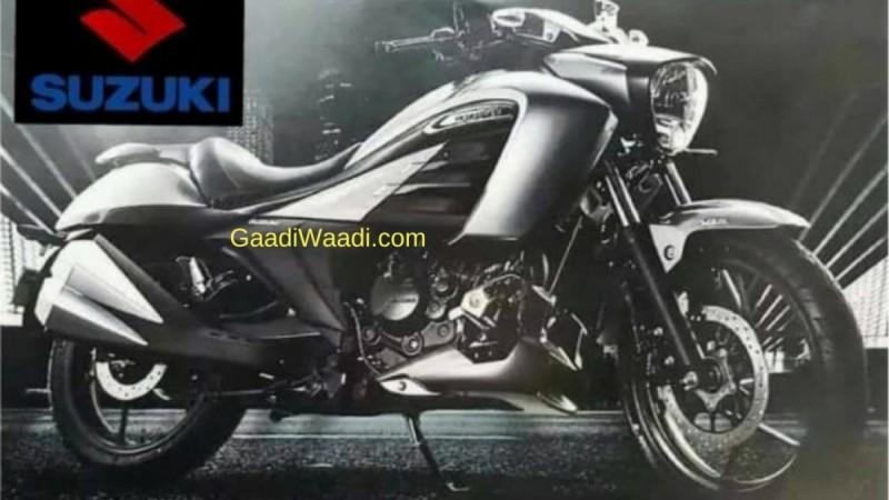 Suzuki Intruder 150 Images leaked, India launch on November 7
