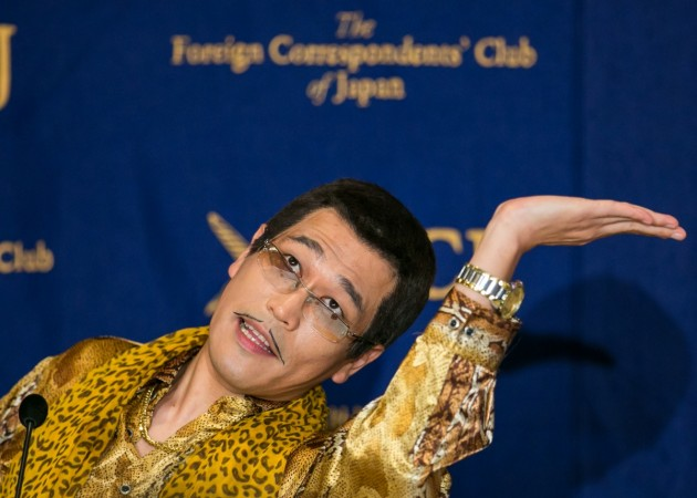 Image result for Japan will entertain Donald Trump with Pen-Pineapple-Apple-Pen singer