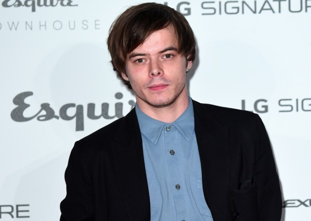 Charlie Heaton from 'Stranger Things' had a busy weekend