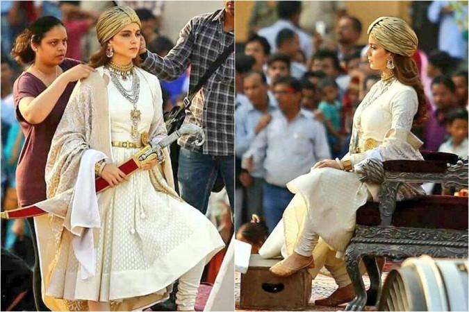 Kangana Ranaut as Queen of Jhansi