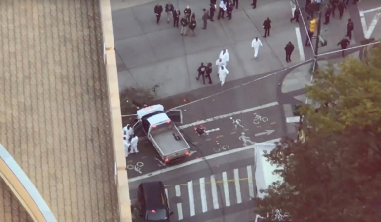 At Least 5 Injured When Box Truck Driver Mows Down Pedestrians