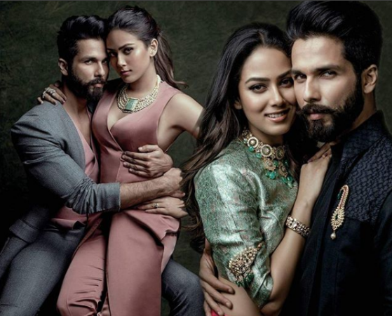 Shahid Kapoor and Mira Rajput's favorite position in bed revealed