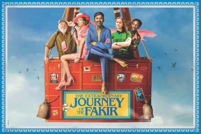 Dhanush's first look in The Extraordinary Journey of the Fakir is out