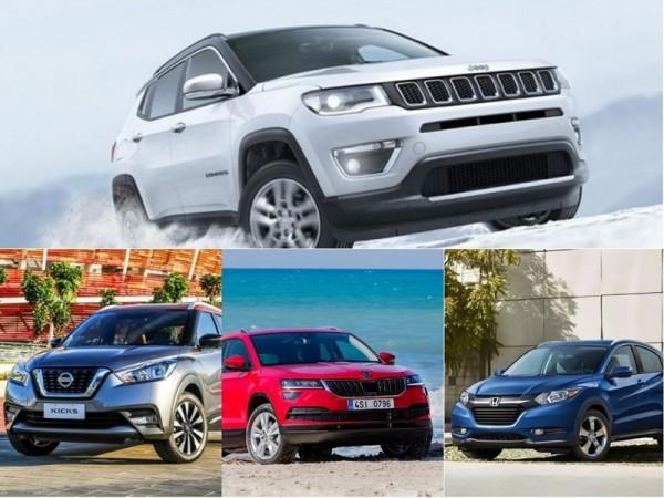 Jeep Compass rivaling SUVs