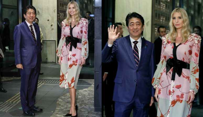 Trump getting down to business in Tokyo — The Latest