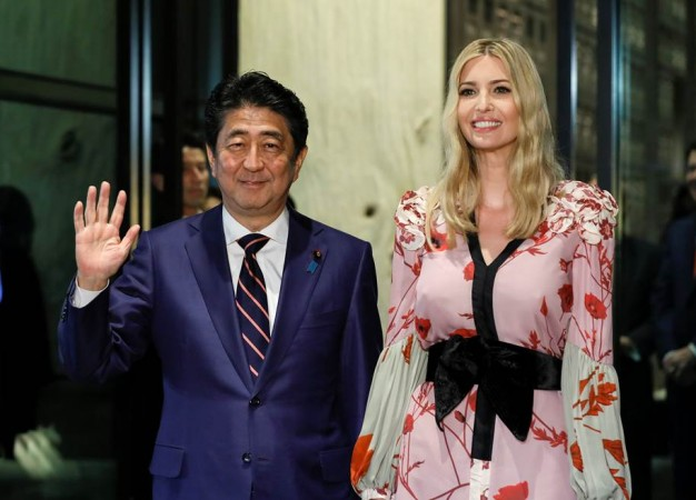 Trump previews 'major discussions' with Japan on North Korea, trade
