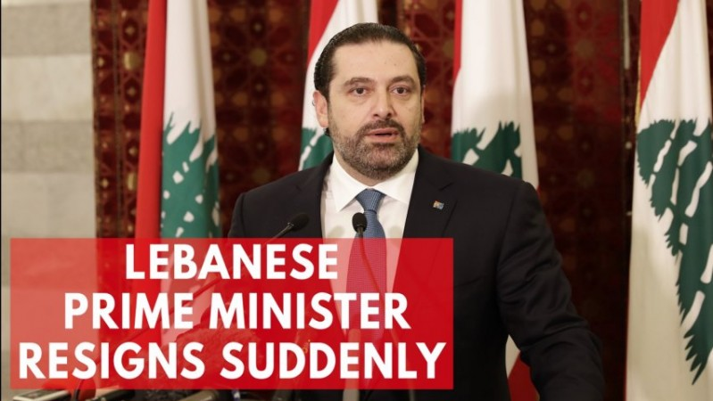 Saad Hariri resigns as prime minister of Lebanon out of fears of assassination