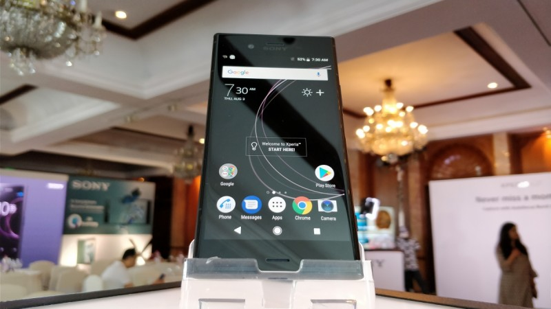 Xperia XZ2 Compact prototype makes an appearance