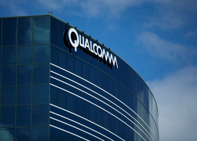 One of many Qualcomm buildings is shown in San Diego California U.S