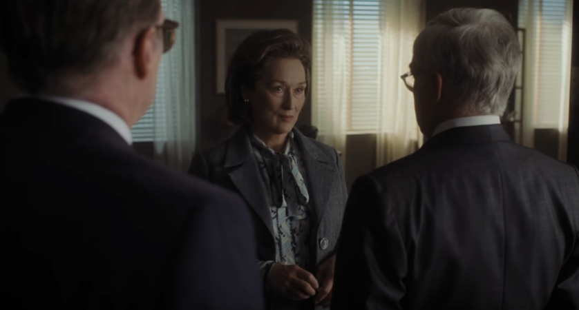 Watch the first trailer for Steven Spielberg's new film The Post